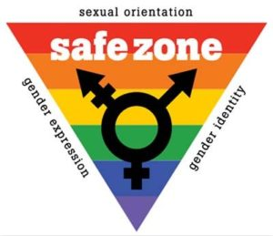 This business is a safe zone for all sexual orientation, gender expression, and gender identity